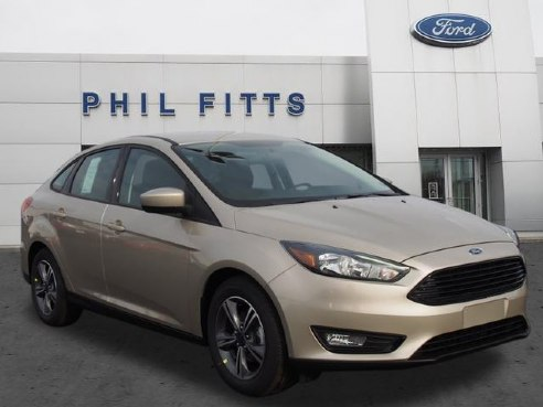 Phil Fitts Ford >> 2018 Ford Focus SE for sale, New Castle PA, 1.0 3 Cylinder,White Gold - www.meadvillewheelz.com ...